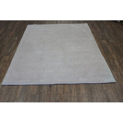 Transition Cream Area Rug Rug Size: 5 x 7