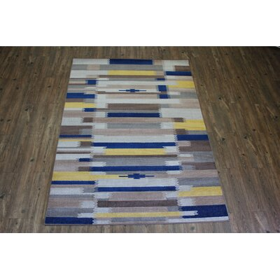 Kilim Area Rug Rug Size: Rectangle 53 x 75