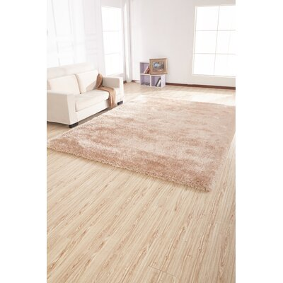 Dietrick Shag Hand-Tufted Beige Area Rug
