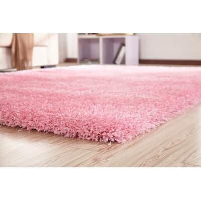 Bathford Hand Tufted Pink Area Rug