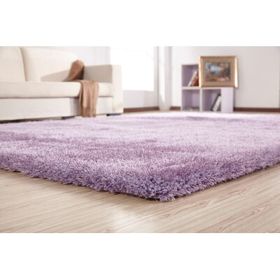 Bathford Hand Tufted Lavender Area Rug
