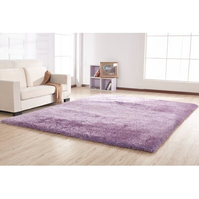 Housman Hand-Tufted Lavender Area Rug
