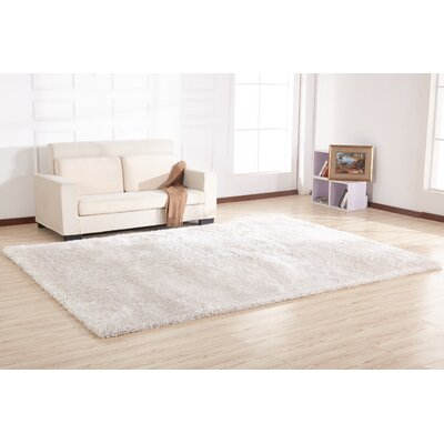 Hand-Tufted Off White Area Rug