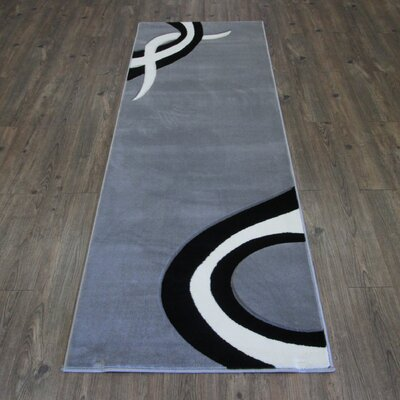 Geo Gray/Black Area Rug