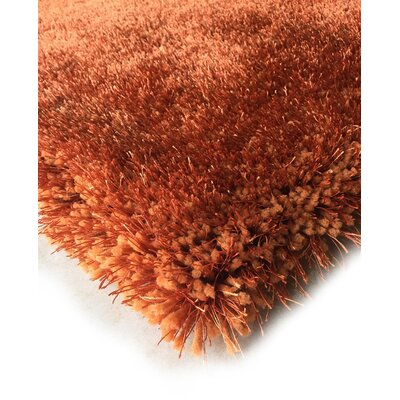 Hand-Tufted Rust Area Rug