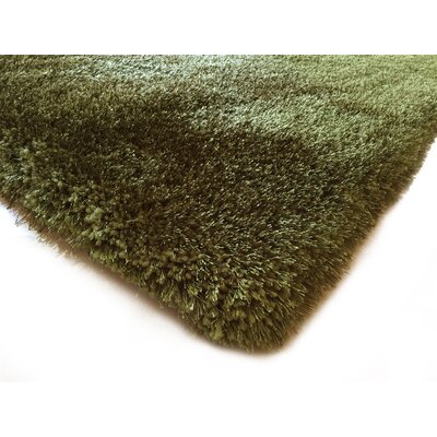 Hand-Tufted Hunter Green Area Rug