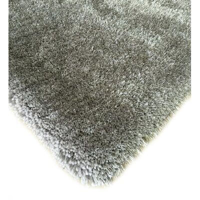 Hand-Tufted Silver Area Rug