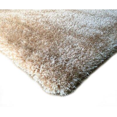 Hand-Tufted Beige Area Rug