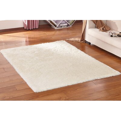 Lurex White Hand Tufted Area Rug