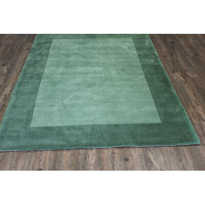 Transition Hand-Tufted Green Area Rug