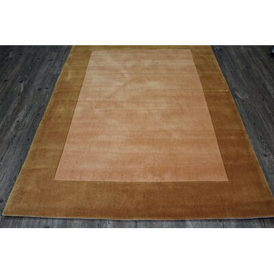 Transition Hand-Tufted Gold Area Rug