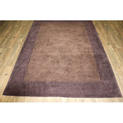 Transition Hand-Tufted Brown Area Rug