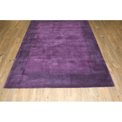 Transition Hand-Tufted Blue Violette Area Rug