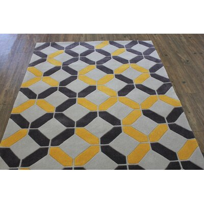 Transition Hand-Tufted Charcoal Area Rug