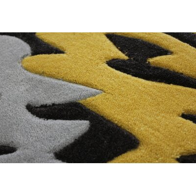 Transition Hand-Tufted Gray Area Rug