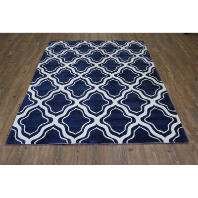 Transition Hand-Tufted Blue Area Rug