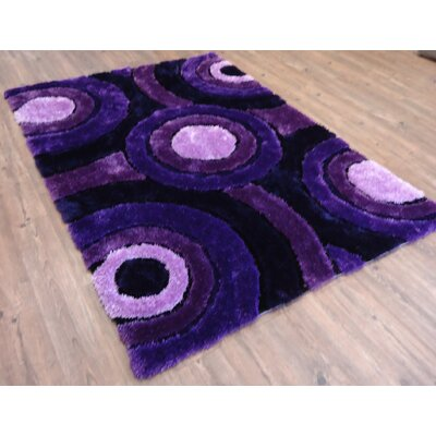 Hand-Tufted Lavender Area Rug