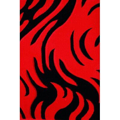 Vendramin Red/Black Area Rug