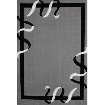 Tillison Power Loom Gray Area Rug