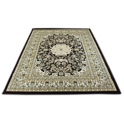 Bonsai Traditional Oriental Brown Area Rug Rug Size: Rectangle 7'10