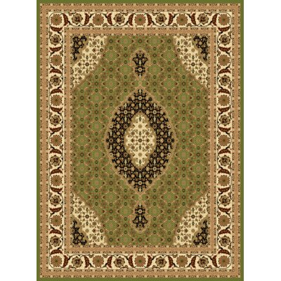 Mona Lisa Green Area Rug Rug Size: Rectangle 5'4