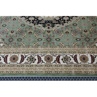 Mona Lisa Green Area Rug