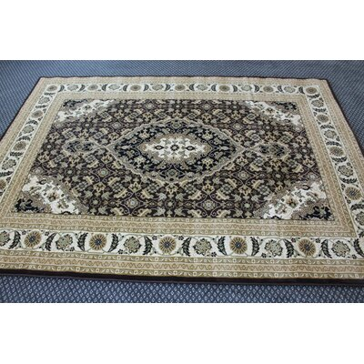 Linde Oriental Brown Area Rug