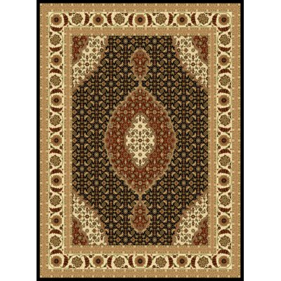 Mona Lisa Black Area Rug Rug Size: Rectangle 711 x 106