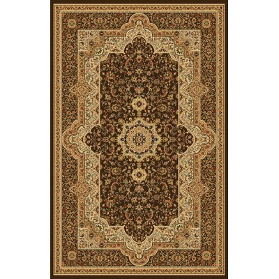 Mona Lisa Brown Area Rug Rug Size: Rectangle 54 x 75