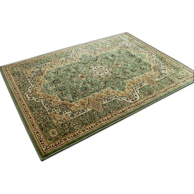 Mona Lisa Green Area Rug Rug Size: 5'4 x 7'5
