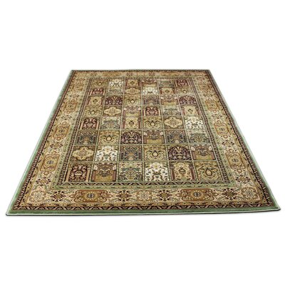 Mona Lisa Green/Beige Area Rug