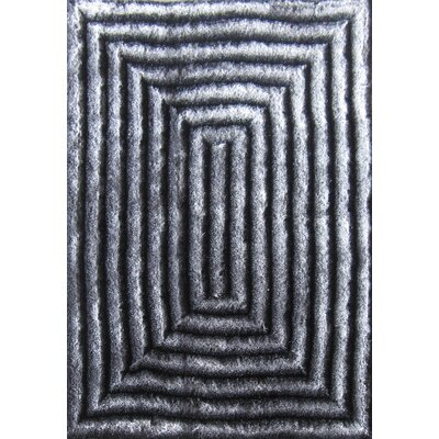 Hand-Tufted Gray/Silver Area Rug