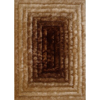 Mcevoy Design Hand-Woven Gold/Brown Area Rug