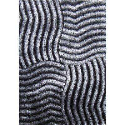 Mcgahey Design Hand-Woven Gray Area Rug