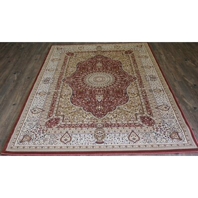 Tabriz Brown Indoor/Outdoor Area Rug Rug Size: 8 x 11