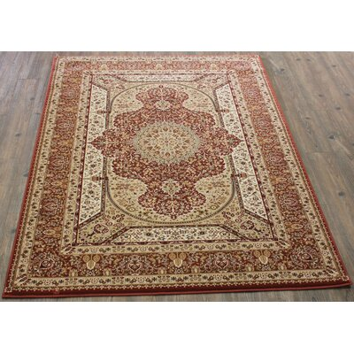 Boulevard Traditional Oriental Rose Area Rug Rug Size: Rectangle 710 x 106
