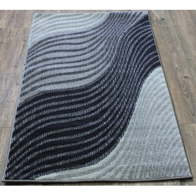 Fusion Hand-Tufted Blue Area Rug
