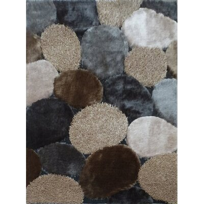 Hand-Tufted Gray/Beige Area Rug