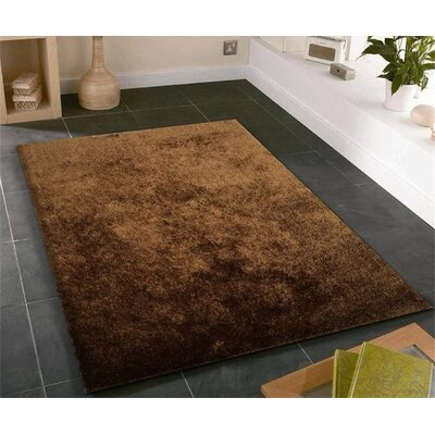 Pattison Hand-Tufted Brown Area Rug