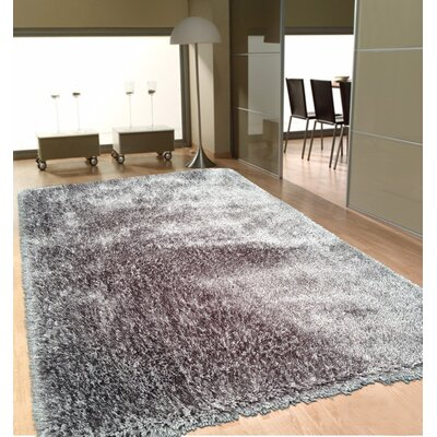 Port Pirie Shag Hand Tufted Gray Area Rug