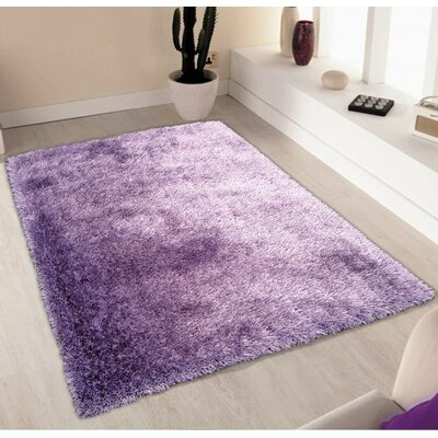 Port Pirie Shag Hand Tufted Lavender Area Rug Rug Size: Rectangle 4 x 54