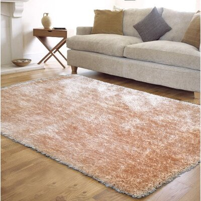Port Pirie Shag Hand Tufted Beige Area Rug Rug Size: Rectangle 5 x 7