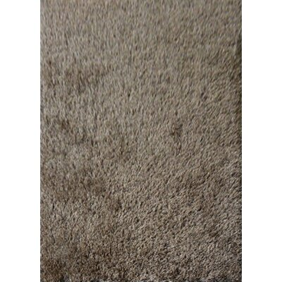 Shaggy Hand Tufted Charcoal Gray Area Rug