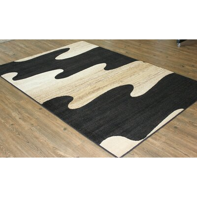 Berrier Black/Beige Area Rug