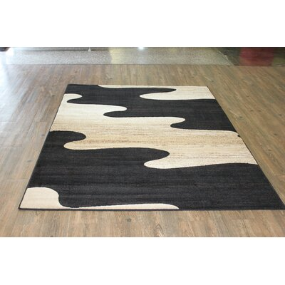 Sarenac Black/Beige Area Rug