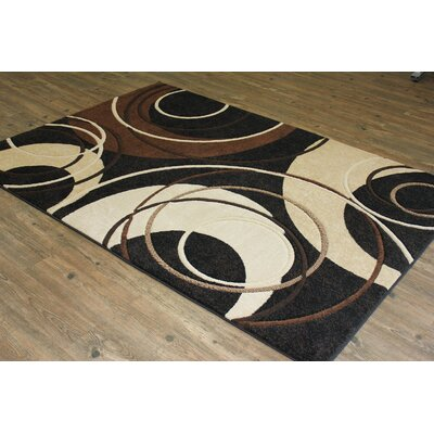 Yarbro Black Indoor Area Rug Rug Size: Rectangle 5 x 8