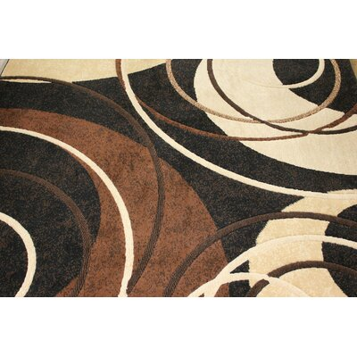 LifeStyle Black/Brown Area Rug