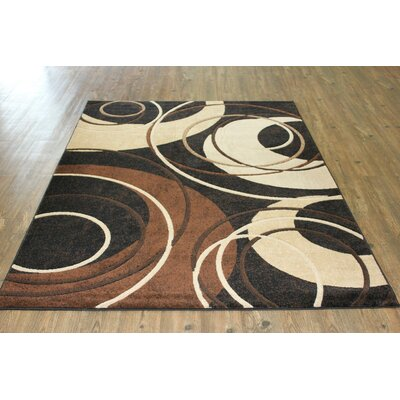 Quinten Contemporary Black Area Rug