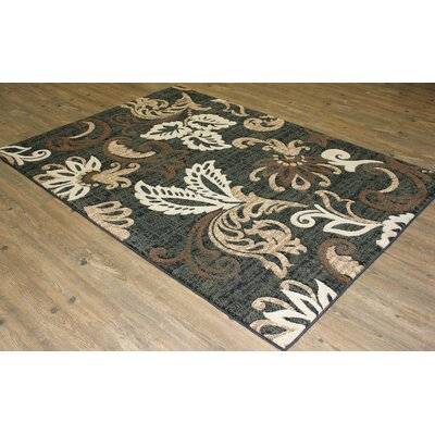 LifeStyle Brown/Black Area Rug