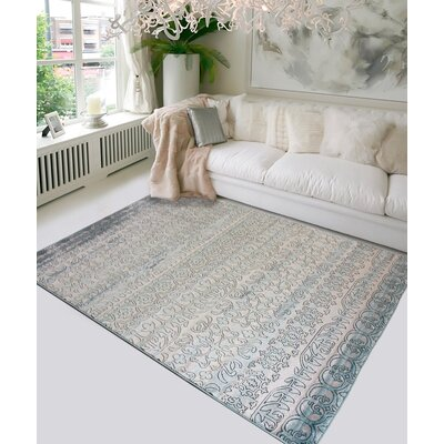 Como Blue Indoor/Outdoor Area Rug Rug Size: 8 x 10
